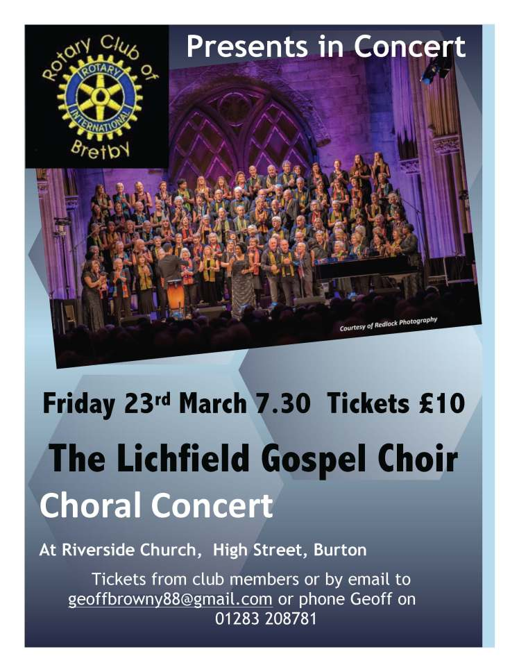 Lichfield Gospel choir 2018