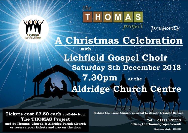Thomas Project flyer